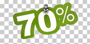 70% Discount Sticker PNG