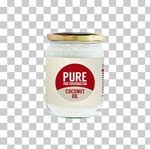 Coconut Oil Organic Food Dietary Supplement Superfood PNG