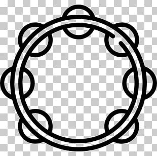 Tambourine Drawing Musical Instruments PNG