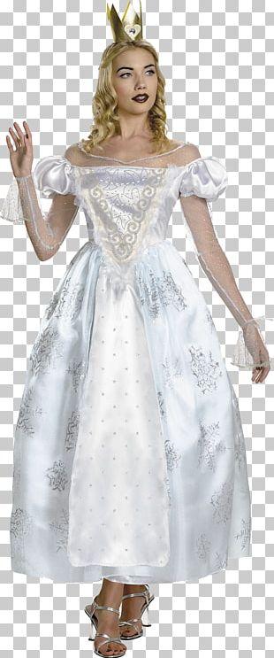 White Queen Alice In Wonderland Red Queen Queen Of Hearts Costume PNG