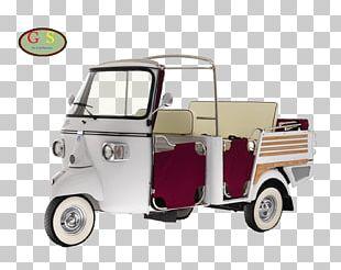 Piaggio Ape Car Auto Rickshaw Scooter PNG