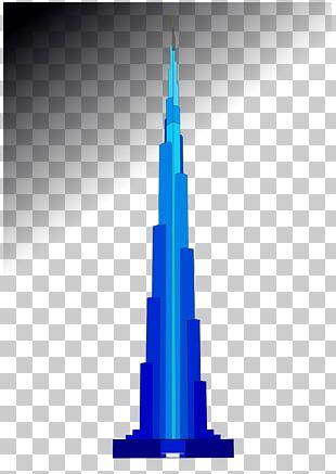 Burj Khalifa Skyscraper Building PNG