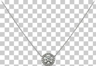 Earring Necklace Cartier Charms & Pendants Diamond PNG