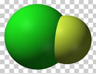 Chlorine Monofluoride Chemical Compound Interhalogen PNG