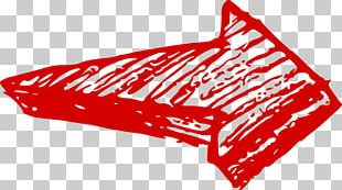 Heavy Red Arrow Right PNG
