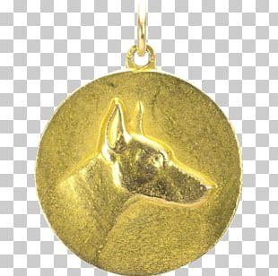 Locket Christmas Ornament 01504 Gold PNG