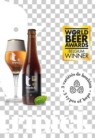 Ale Beer Bottle Tripick Tripel PNG