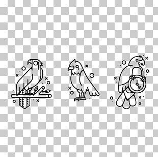 Flat Design Parrot PNG
