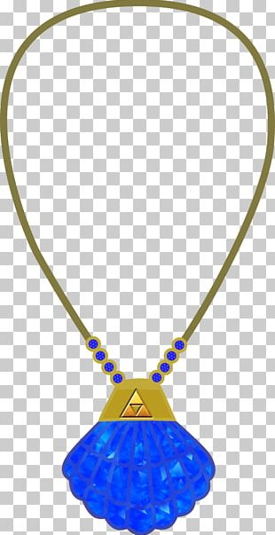 Jewellery Necklace Charms & Pendants Clothing Accessories Cobalt Blue PNG
