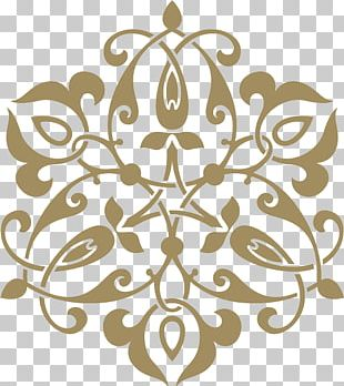 Stencil Ornament Arabesque Pattern PNG