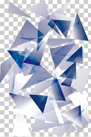 Triangle Blue PNG