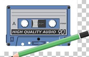 Compact Cassette Cassette Deck Sound Recording And Reproduction Pen PNG