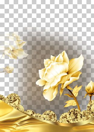 Poster Jewellery Diamond Gold PNG