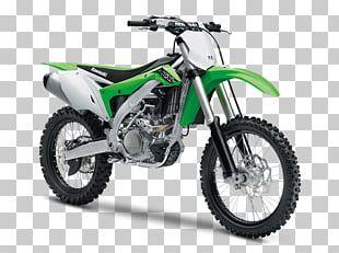 Kawasaki KX450F Motorcycle Kawasaki Heavy Industries Engine PNG