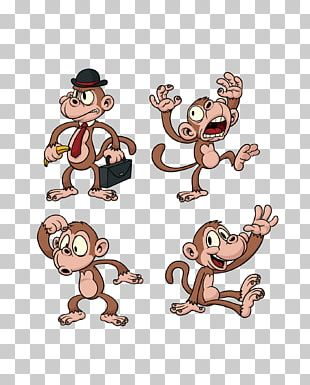 Ape The Evil Monkey Chimpanzee Cartoon PNG