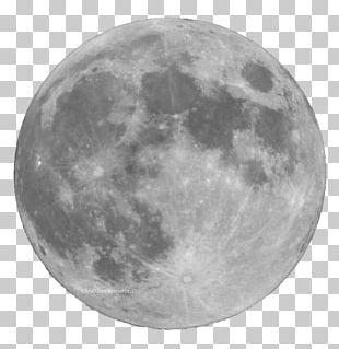 Full Moon Astronomy Light Lunar Phase PNG