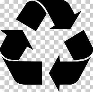 Recycling Symbol Rubbish Bins & Waste Paper Baskets PNG