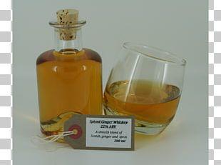 Liqueur Whiskey Glass Bottle Caramel Color PNG