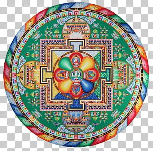Tibetan Buddhism Sand Mandala Tibetan Art PNG