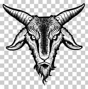 Drawing Goat Baphomet Demon PNG