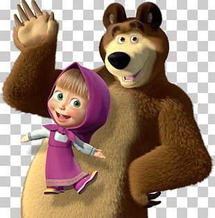 Masha And The Bear Animation PNG