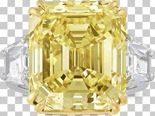 Gemological Institute Of America Diamond Color Engagement Ring Yellow PNG