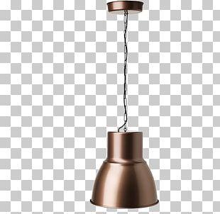 Pendant Light Bronze Lamp Light Fixture PNG