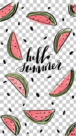 Watermelon Summer PNG