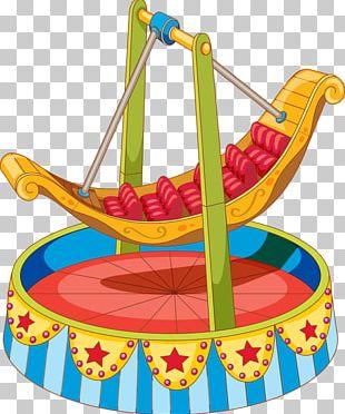 Amusement Park Traveling Carnival Swing Ride PNG