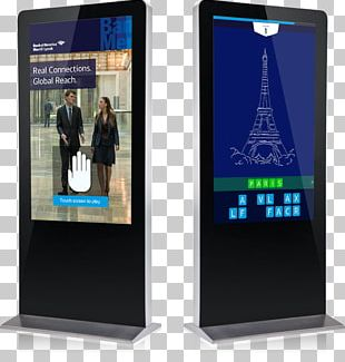 Telephony Communication Display Advertising Interactive Kiosks PNG
