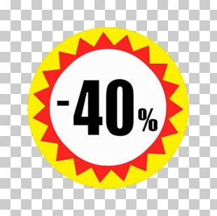 40% Discount PNG