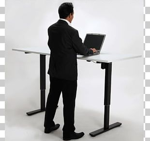 Sit-stand Desk Table Standing Desk PNG
