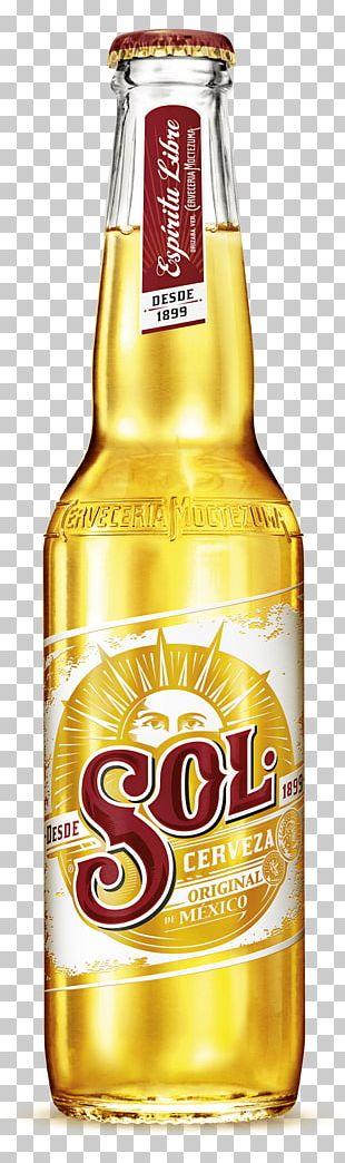 Sol Beer Bottle PNG