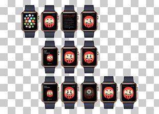 Daruma Doll Watch OS Apple Watch PNG