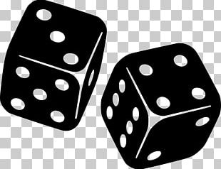 Dice Gambling Risk Black & White Computer Icons PNG