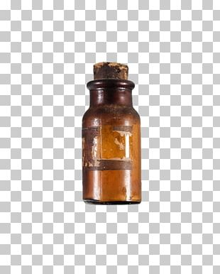 Glass Bottle Apothecary Water Bottles Liquid PNG