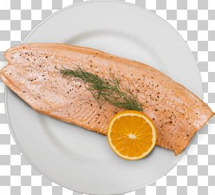 Smoked Salmon Lox Fish Steak Chinook Salmon PNG