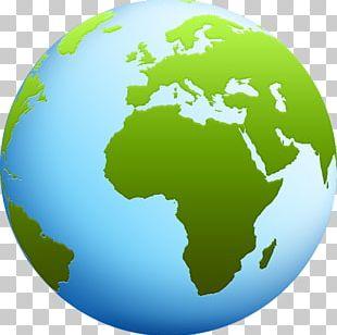 Globe World Map PNG