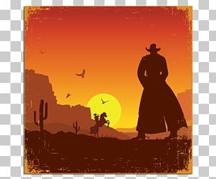 American Frontier Western United States Poster PNG