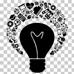 Foco Idea Incandescent Light Bulb Sticker PNG