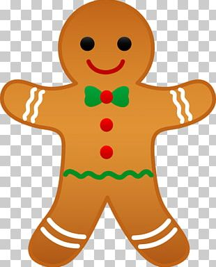 The Gingerbread Man Food PNG