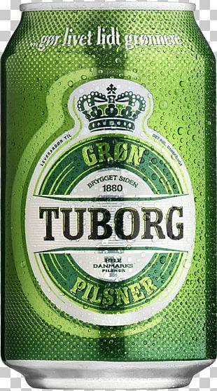 Tuborg Brewery Beer Tuborg Pilsner Lager PNG