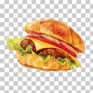 Hamburger Breakfast Sandwich Cheeseburger Fast Food Buffalo Burger PNG