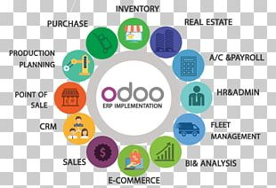 Odoo Enterprise Resource Planning Business Computer Software Logistics PNG