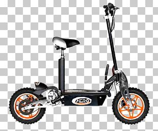 Electric Kick Scooter Electric Bicycle PNG