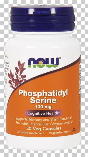 Dietary Supplement Now Foods Phosphatidyl Serine Health Capsule Vitamin PNG