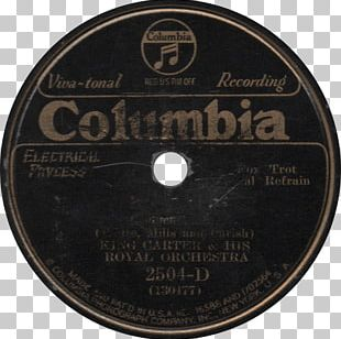 Phonograph Record 78 RPM Sound Recording And Reproduction Columbia Records Musician PNG