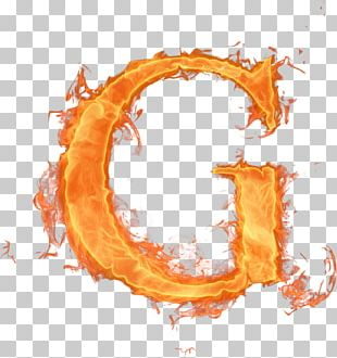 Fire Letter Alphabet Flame PNG