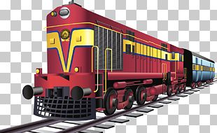 Rail Transport Train Indian Railways Rail Budget Ministry Of Railways PNG