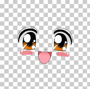 Anime Face Drawing Smiley PNG